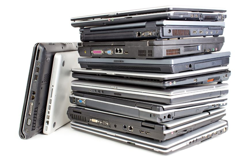 Laptop liquidation