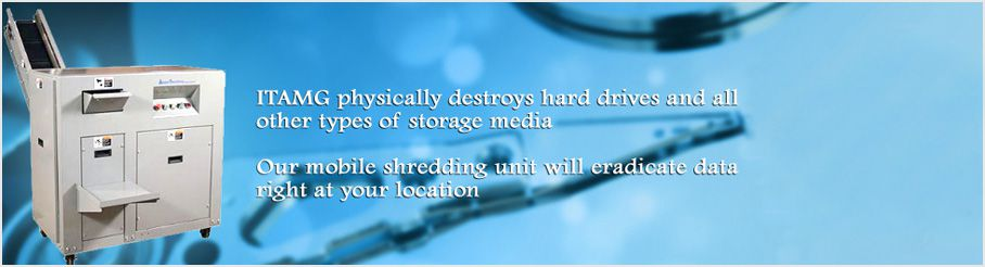 shred hard drives